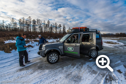 Land Rover Expedition & Goodyear Russia. Чарские пески.