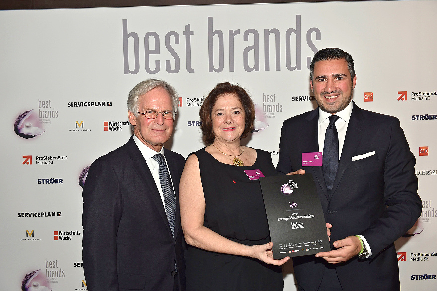 Michelin: The Best Brands Award
